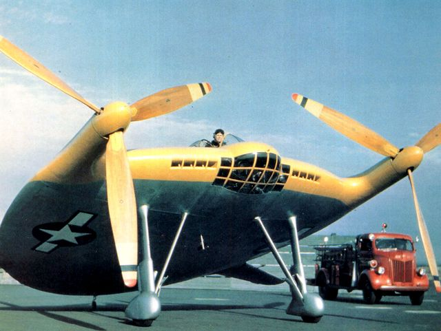 Экспериментальный истребитель Vought XF5U