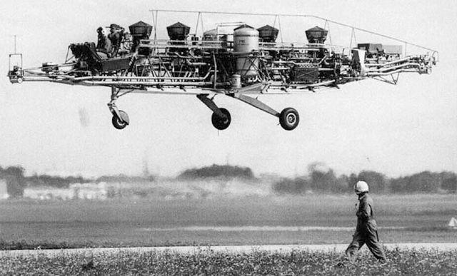 Летающий стенд для оценки силовой установки VAK-191