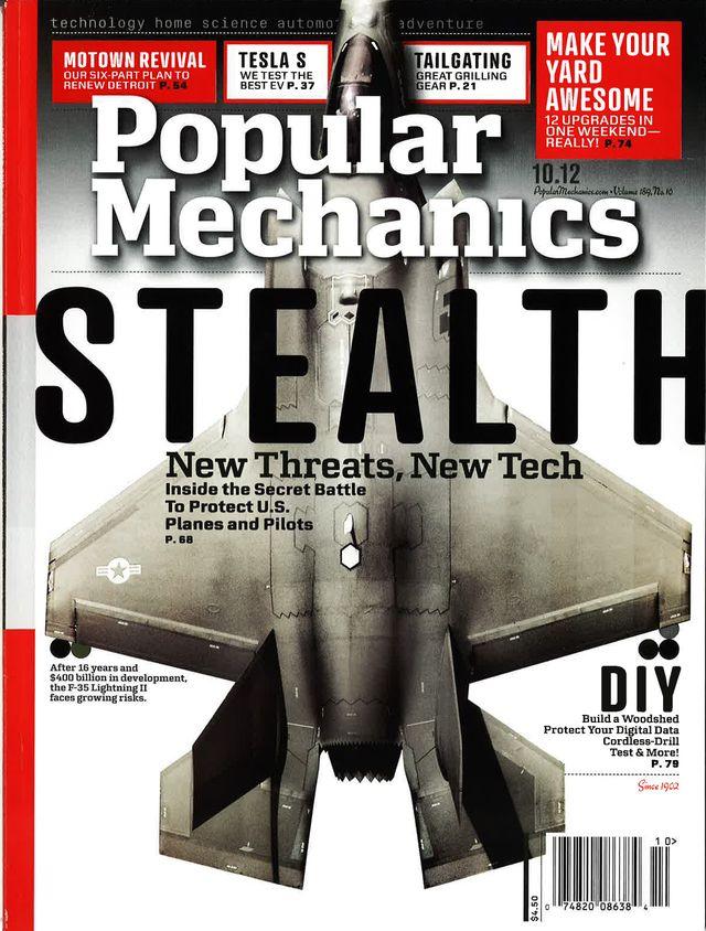 popular mechanics научный журнал
