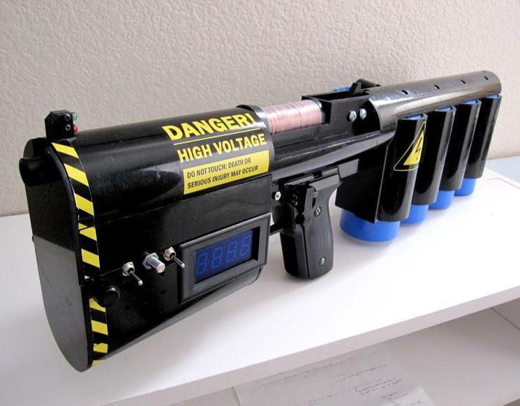 Электромагнитную пушку своими руками