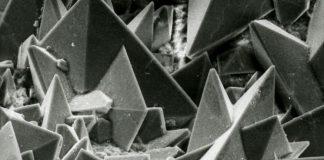 Поверхность кристаллов песка в почках