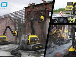 Робот ERO Concrete Recycling Robot