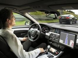 Полуавтоматическое управление машиной от BMW