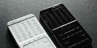 Shikun Sun первый сенсорный смартфон для слепых