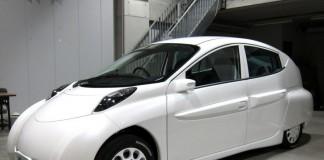 Электромобиль из Японии SIM-Drive LEI