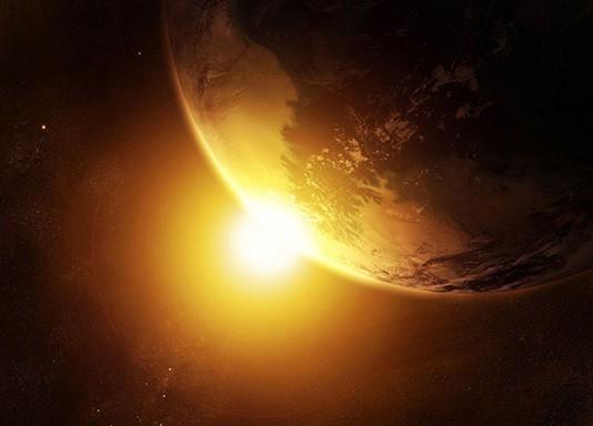 увеличение солнца