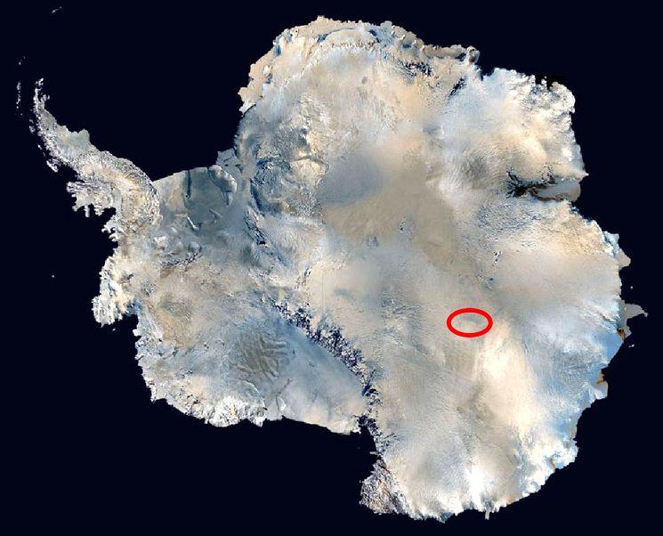 Антарктическая станция Восток - южный полюс холода