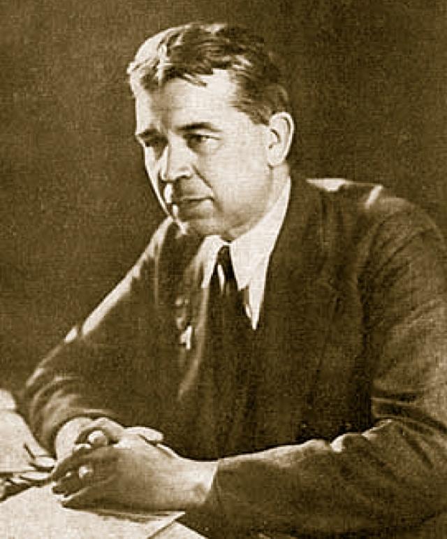 Известный советский ученый Сергей Вавилов