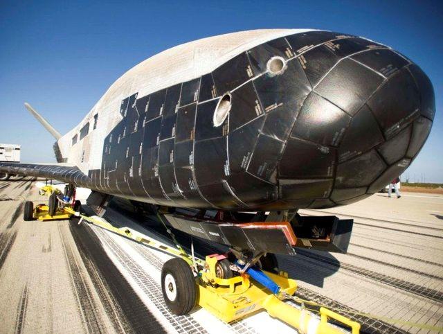 Термозащита БЛА  Boeing X-37B