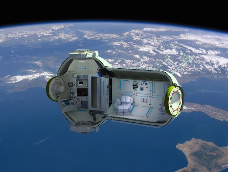 Космический отель на орбите