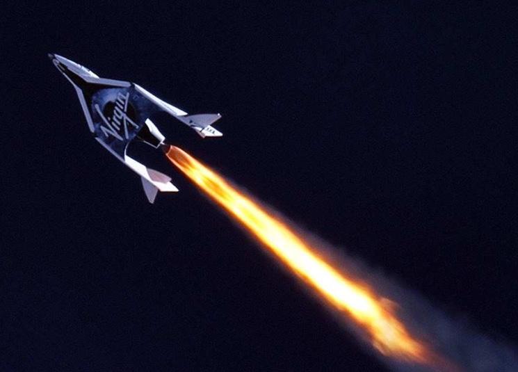 Virgin Galactic - туристические суборбитальные космические полёты