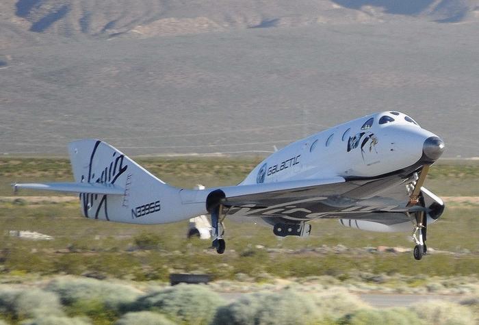 Взлет Spaceshiptwo