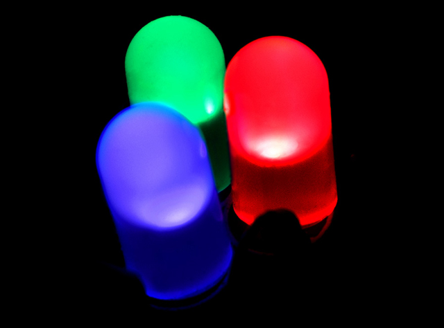 самые маленькие в мире светодиоды