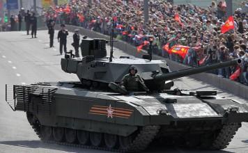 Новый танк Армата на параде Победы в Москве