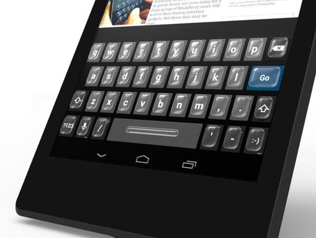 Tactus Technology - технология физических кнопок на сенсорных панелях