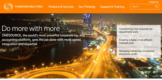 Рейтинг Thomson Reuters