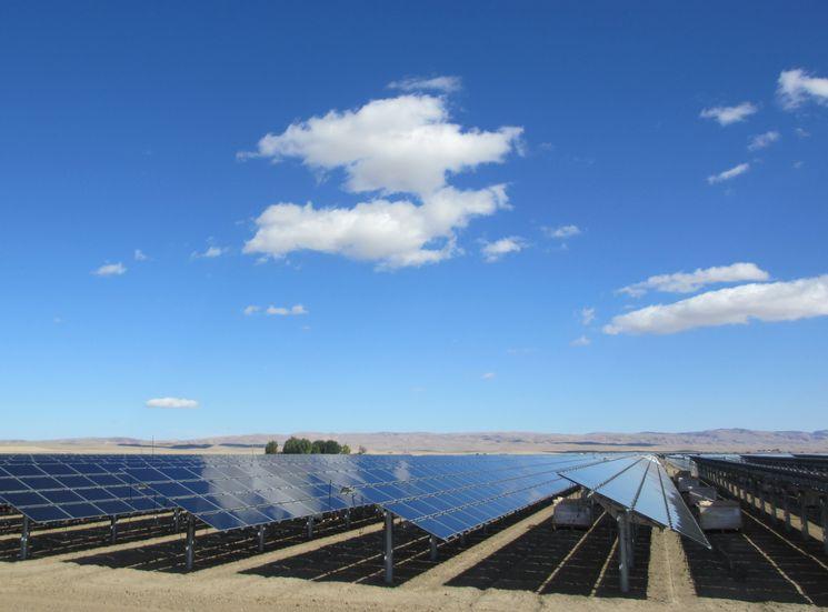 Самая большая солнечная электростанция на планете