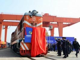 Новый шелковый путь из Китая в Испанию - поезд Иу - Мадрид