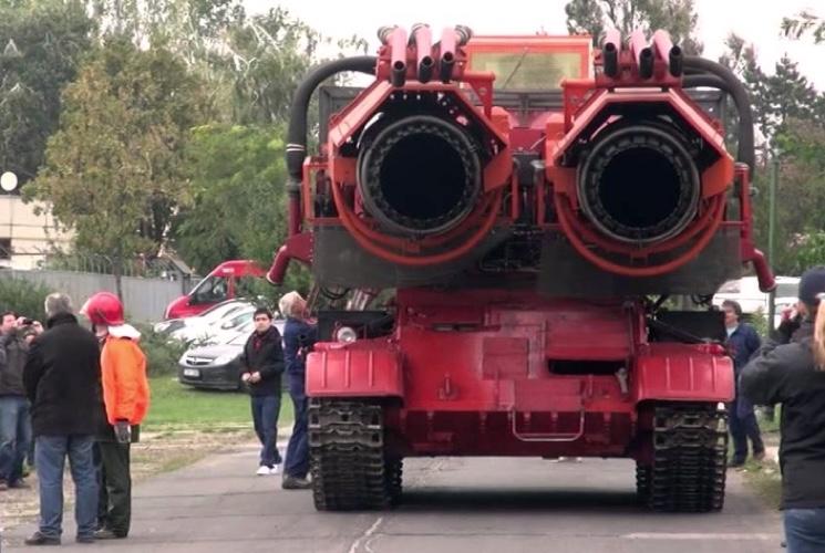 Турбины пожарного танка Big Wind