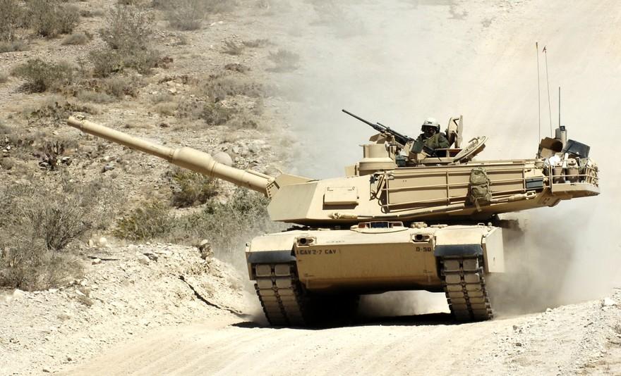 Американский танк M1A1 Abrams