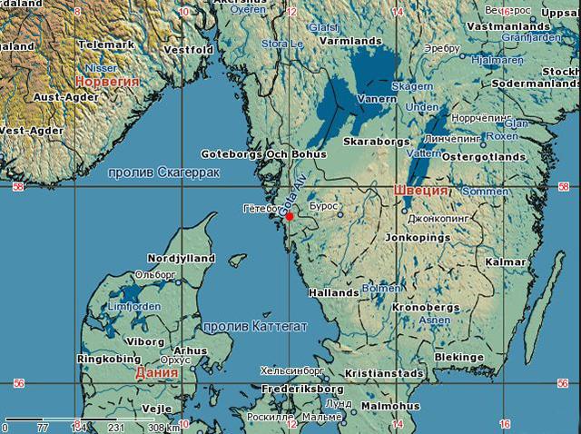 Район Гетеборга, Швеция