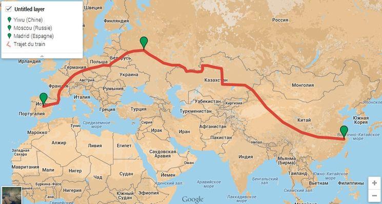Самая протяженная железная дорога в мире