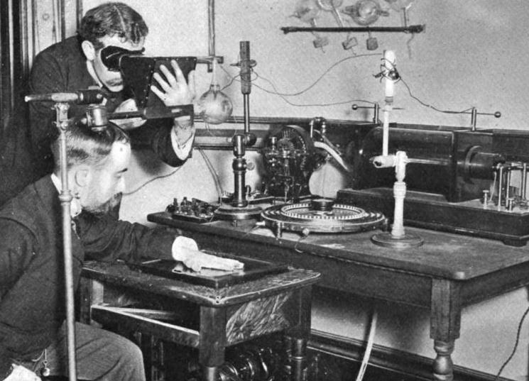 Исследования рентгеновского излучения в начале 20 века