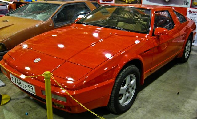 Современный вариант автомобиля Юна