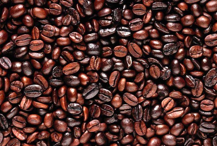 Жареные зерна кофе