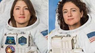 Американки Кристина Кук и Джессика Меир хотят стать первыми женщинами в истории, полетевшими на Луну