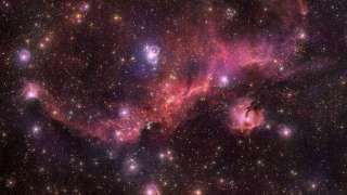Астрономы показали завораживающий вид космической «чайки»