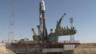 Корабль «Союз МС-13» с новым экипажем МКС готовится стартовать с Байконура