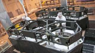 Космический телескоп NASA James Webb обретает крылья