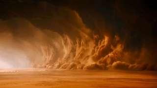Марс мог лишиться воды из-за свирепых пылевых бурь