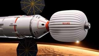 Пилотируемый полет на Марс в 2018 году не осуществим