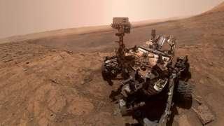 Ровер Curiosity прислал новое селфи с Марса