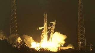 Сбой при запуске Dragon в октябре был связан с трещиной в двигателе