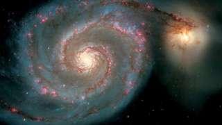 Стала понятна причина столкновения галактик при расширении Вселенной