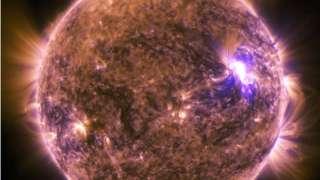 Ученые изучили экзотическую материю в атмосфере Солнца