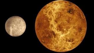 В ближайшие пять млрд. лет возможно катастрофическое столкновение двух небесных тел: Меркурия и Венеры
