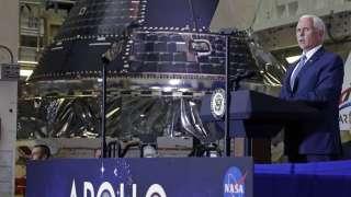 Вице-президент США Майкл Пенс рассказал о возвращении на Луну