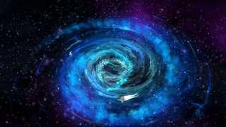 Вселенная попала в чёрную галактическую дыру