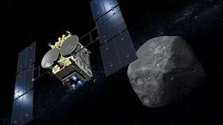 Японский зонд «Хаябуса-2» отправил к астероиду Рюгу исследовательского робота
