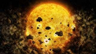 Звезда RW Aur A пожирает свои планеты