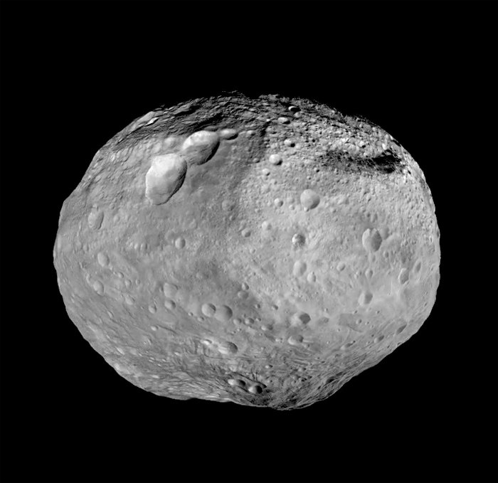 Веста, снимок космического аппарата Dawn