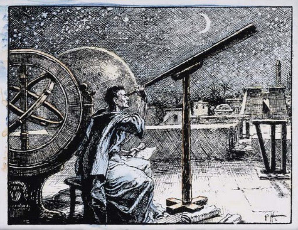 Гиппарх в обсерватории в Александрии