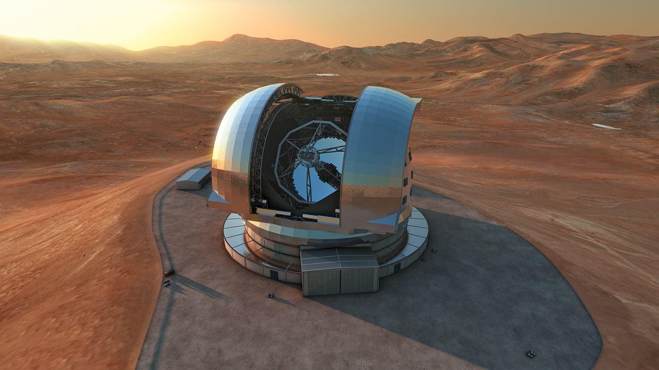 39 метровый телескоп