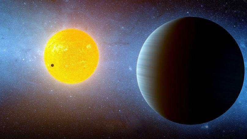 Экзопланета Kepler 10c в представлени художника
