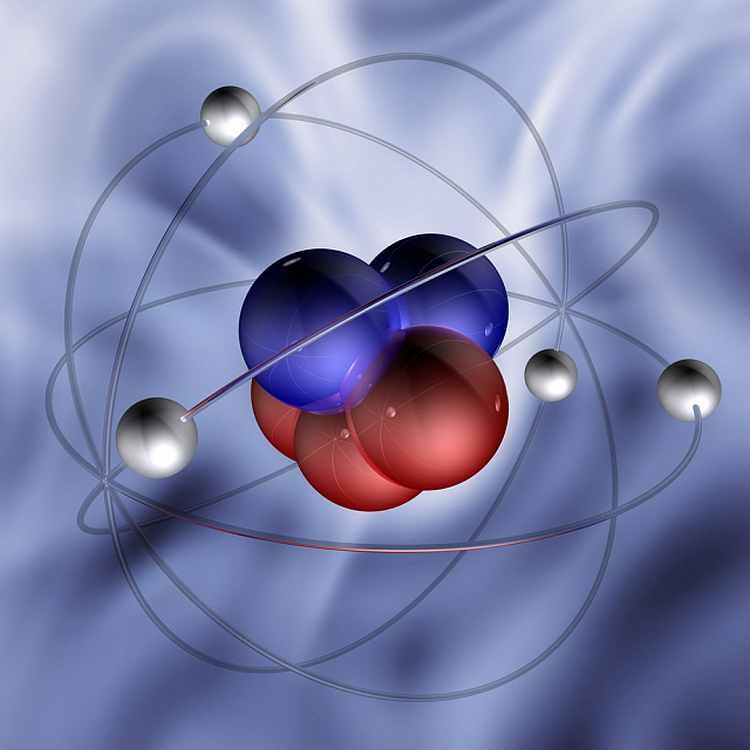 Элементарные частицы картинки