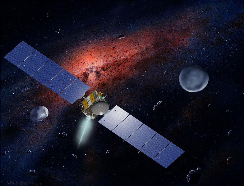 АМС Dawn в межпланетном полёте